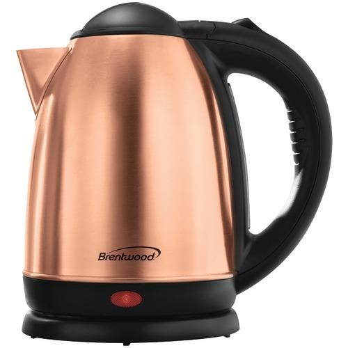 Brentwood Electric Stainless Steel Kettle (1.7 Liter) (pack of 1 Ea)