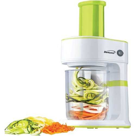 Brentwood Appliances 5-cup Electric Vegetable Spiralizer & Slicer (pack of 1 Ea)