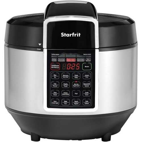 Starfrit Electric Pressure Cooker (pack of 1 Ea)