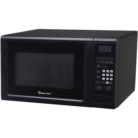 Magic Chef 1.1 Cubic-ft, 1,000-watt Microwave With Digital Touch (black) (pack of 1 Ea)