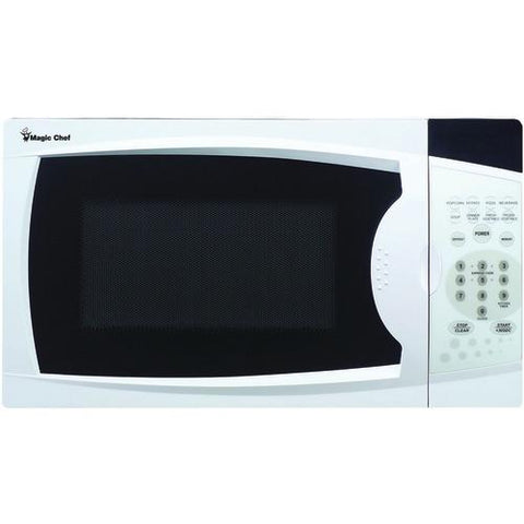 Magic Chef .7 Cubic-ft, 700-watt Microwave With Digital Touch (white) (pack of 1 Ea)
