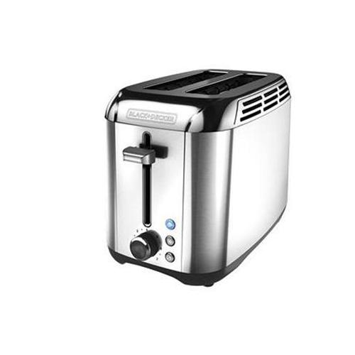 Bd 2slice Stainless Toaster