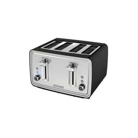 Bd 4-slice Toaster Ss Silver
