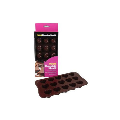 Heart-shaped chocolate mold ( Case of 12 )