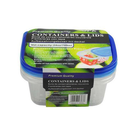 Storage containers pack of 3 ( Case of 16 )