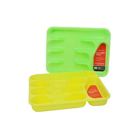 Cutlery tray assorted colors ( Case of 24 )