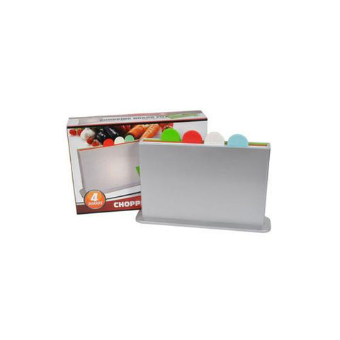Chopping board set 4 boards ( Case of 2 )