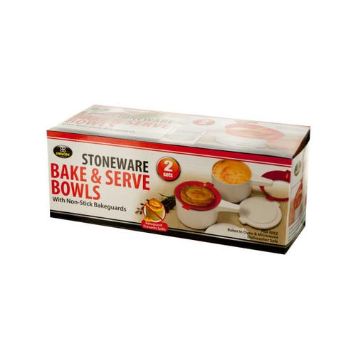 Stoneware Bake & Serve Bowls ( Case of 6 )