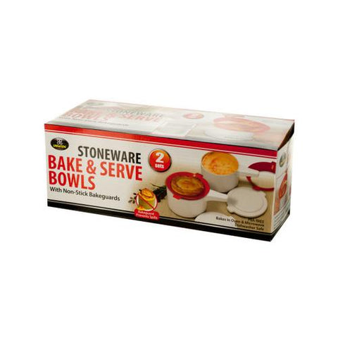 Stoneware Bake & Serve Bowls ( Case of 9 )
