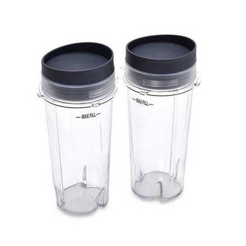 Nutri Ninja Cups With Lids 2 24oz