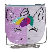 Load image into Gallery viewer, Unicorn Sequin Shoulder Bag