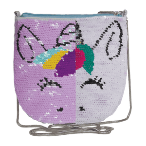 Unicorn Sequin Shoulder Bag