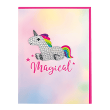 Load image into Gallery viewer, Magical Rhinestone Decal Card