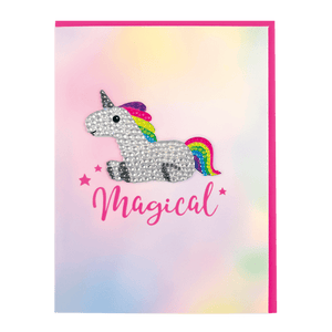 Magical Rhinestone Decal Card