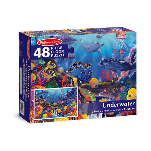 Underwater 48 Piece Floor Puzzle