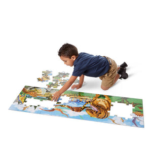 Land Of Dinosaurs 48 Piece Floor Puzzle