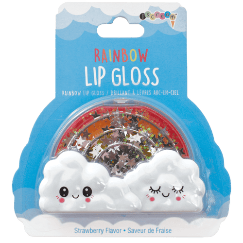 Rainbow Lip Gloss Strawberry Flavor