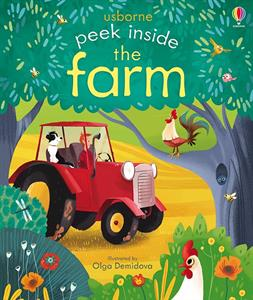 Farm Peek Inside Board Book
