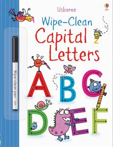 WC Capital Letters Wipe Clean