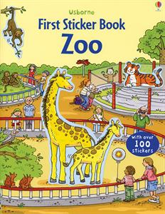 Zoo First Sticker Book