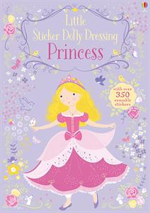 Princesses Little Sticker Dolly