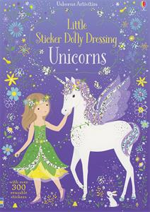 Unicorns Little Sticker Dolly