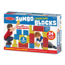 Load image into Gallery viewer, Jumbo Cardboard Blocks - 24 Pieces
