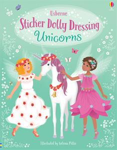 Sticker Dolly Dressing Unicorns