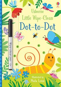 Little Wipe-Clean Dot-To-Dot Book