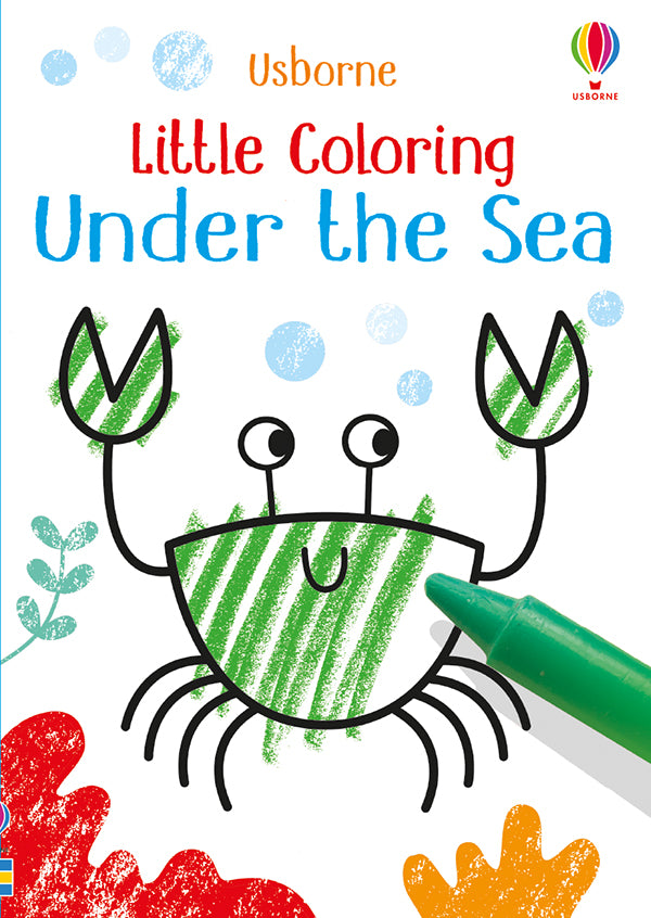 Under The Sea Little Coloring Book