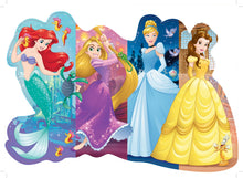 Load image into Gallery viewer, 24 PC Pretty Princess Shaped Floor Puzzle