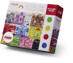 24 PC Color City Puzzle