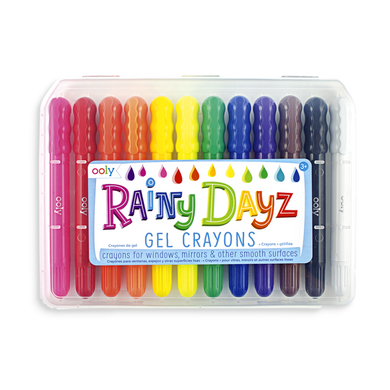 Rainy Dayz Gel Crayons Set Of 12