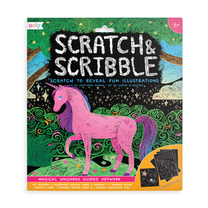 Unicorn Scratch & Scribble