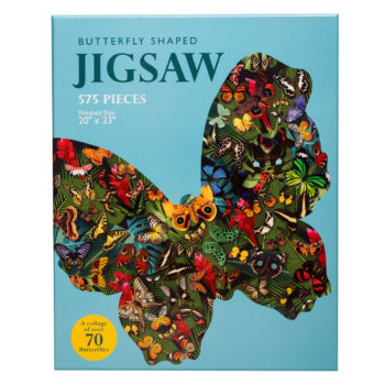 Butterfly Shaped Puzzle 550 Pieces