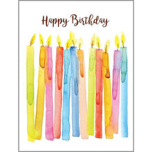 Load image into Gallery viewer, Birthday Candles Card