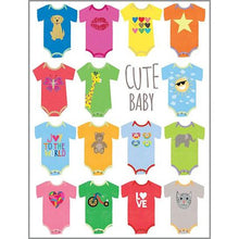 Load image into Gallery viewer, Cute Baby Onesie Baby Card