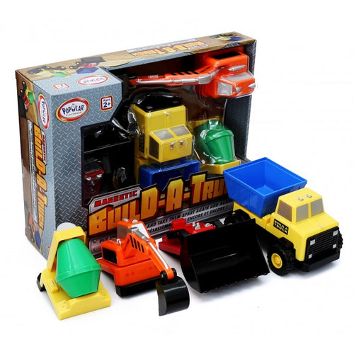 Magnetic Build A Truck Construction Set