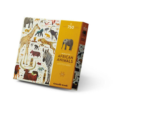 750 PC African Animals World Of Animal Puzzle