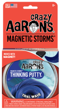 Load image into Gallery viewer, Tidal Wave Magnetic Putty Tin with Magnet