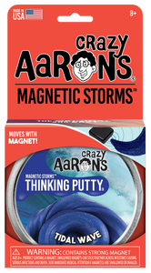 Tidal Wave Magnetic Putty Tin with Magnet