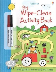 Big Activity Book Wipe-Clean
