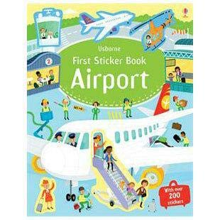 Airport First Sticker bk