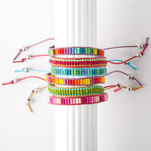 Load image into Gallery viewer, Stripes Color Bars Bracelet