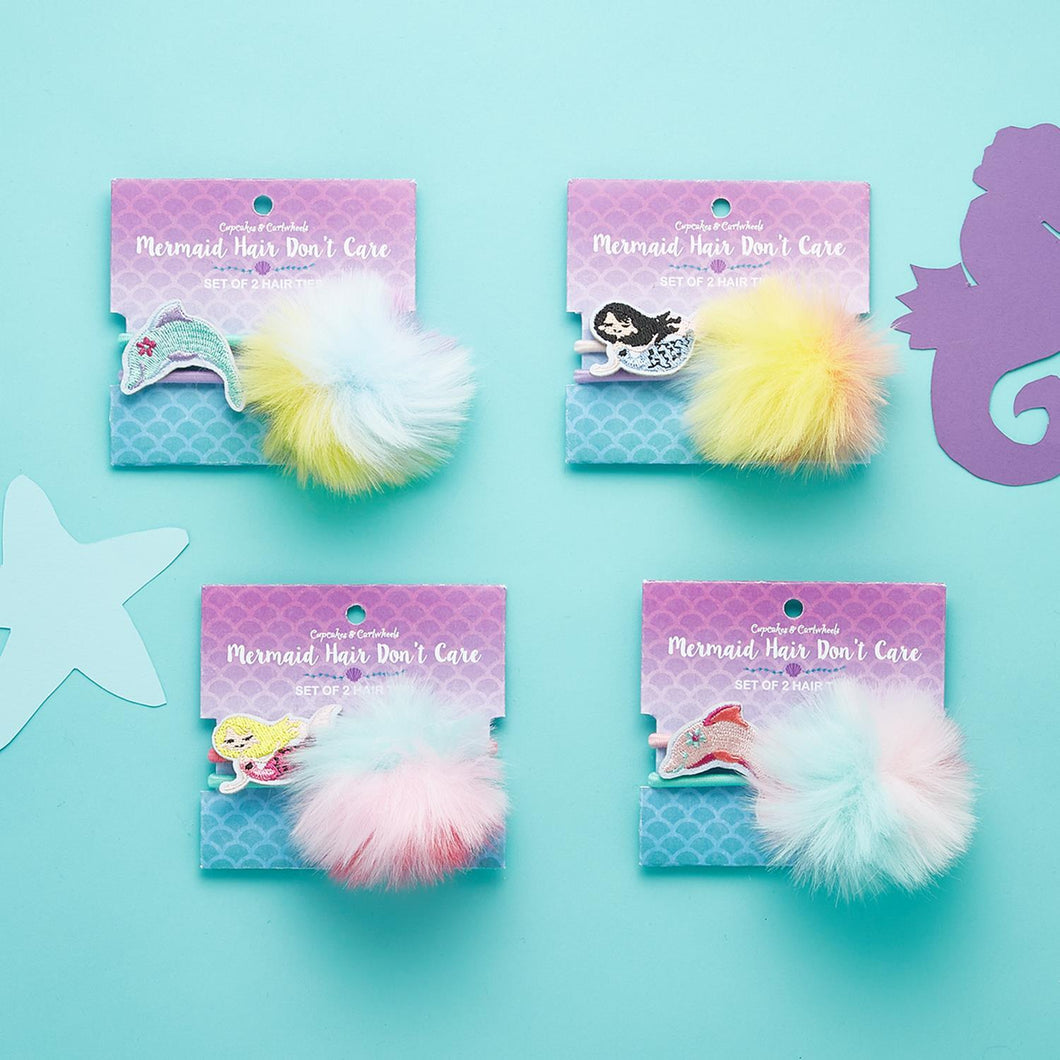 Mermaid & Dolphin Hair Ties