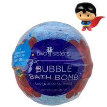 Load image into Gallery viewer, Superhero Surprise Bubble Bath Bomb