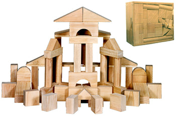 60 pc Wood Blocks