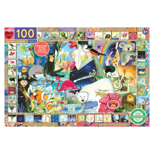 100 Piece Natural Science Puzzle