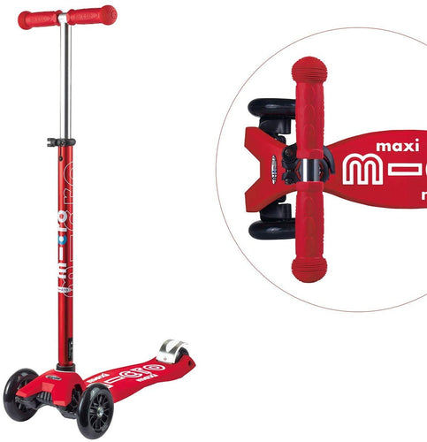 Red Maxi Micro Kickboard Deluxe Scooter