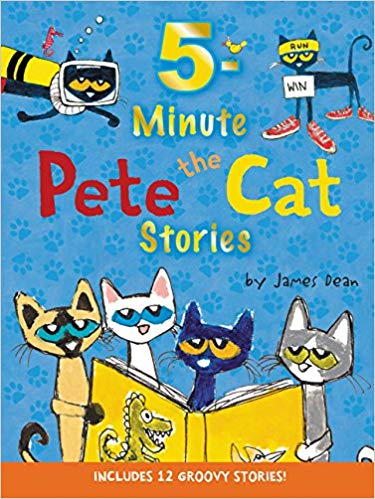 5 Minute Pete The Cat Stories